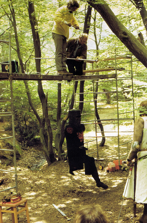 superseventies:  Behind the scenes on 'Monty and the Holy Grail', 1973/74.
