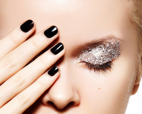 Check out these ways to dress up your eyelids- how about add some dazzle?