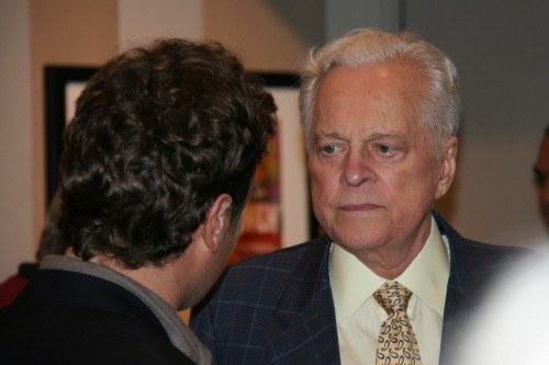 @TCM host Robert Osborne tonight at the Film Society of Lincoln Center, looking healthy.
