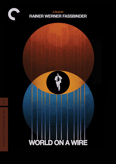 My cover for Fassbinder's WORLD ON A WIRE, coming to Criterion Blu-ray and DVD in February.