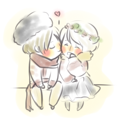 abhauen:  a little extra sweetness because abubu likes sweet things! >u<)b
