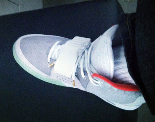 Nike Air Yeezy 2 - Zen Grey/Red here's a look at the Zen Grey/REd colourway of the Yeezy 2's that will release eventually.  got some different tones of grey with a red lining and mint sole.  can't wait for the Yeezy 2 to be officially unveiled.  click here for more pics Related articles Kanye West Rocks Nike Air Yeezy 2 At Victoria's Secret Fashion Show (sneakerfiles.com) Nike Air Yeezy 2 - New Clear Photos (sneakernews.com)