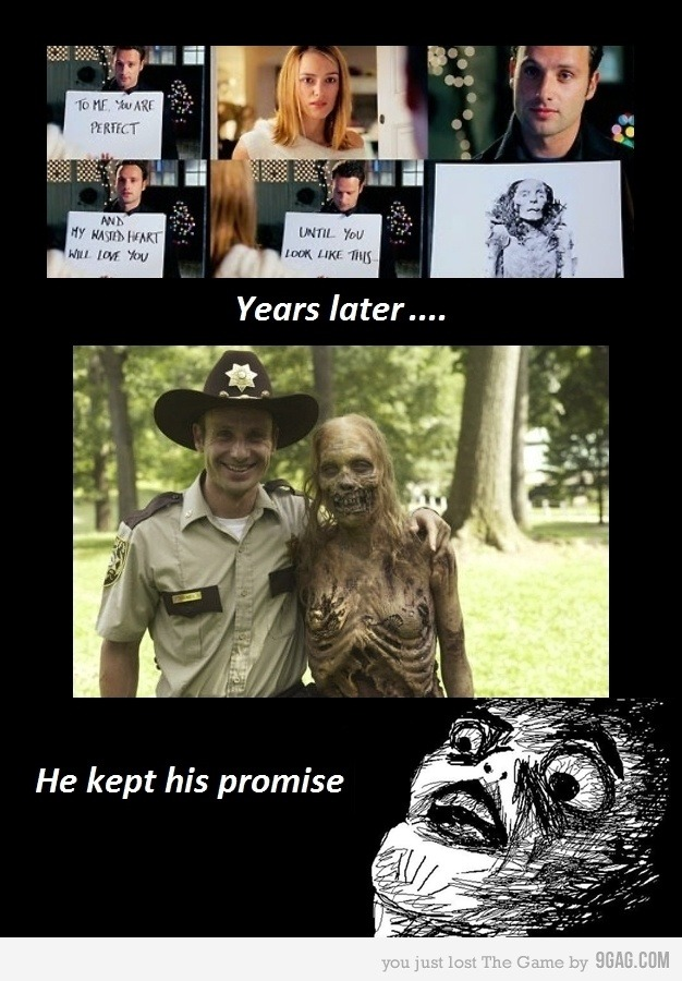 HAHAHAHAHAHA THIS ONE IS HILARIOUS! DIDNT U KNOW THAT RICK WAS THE GUY  IN LOVE IF KEIRA IN LOVE ACTUALLY?? I DID AND HE KEEP AN IMPORTANT  PROMISE :') CRY @wwwbigbaldhead you need to show him this one :D btw i love u :B ho