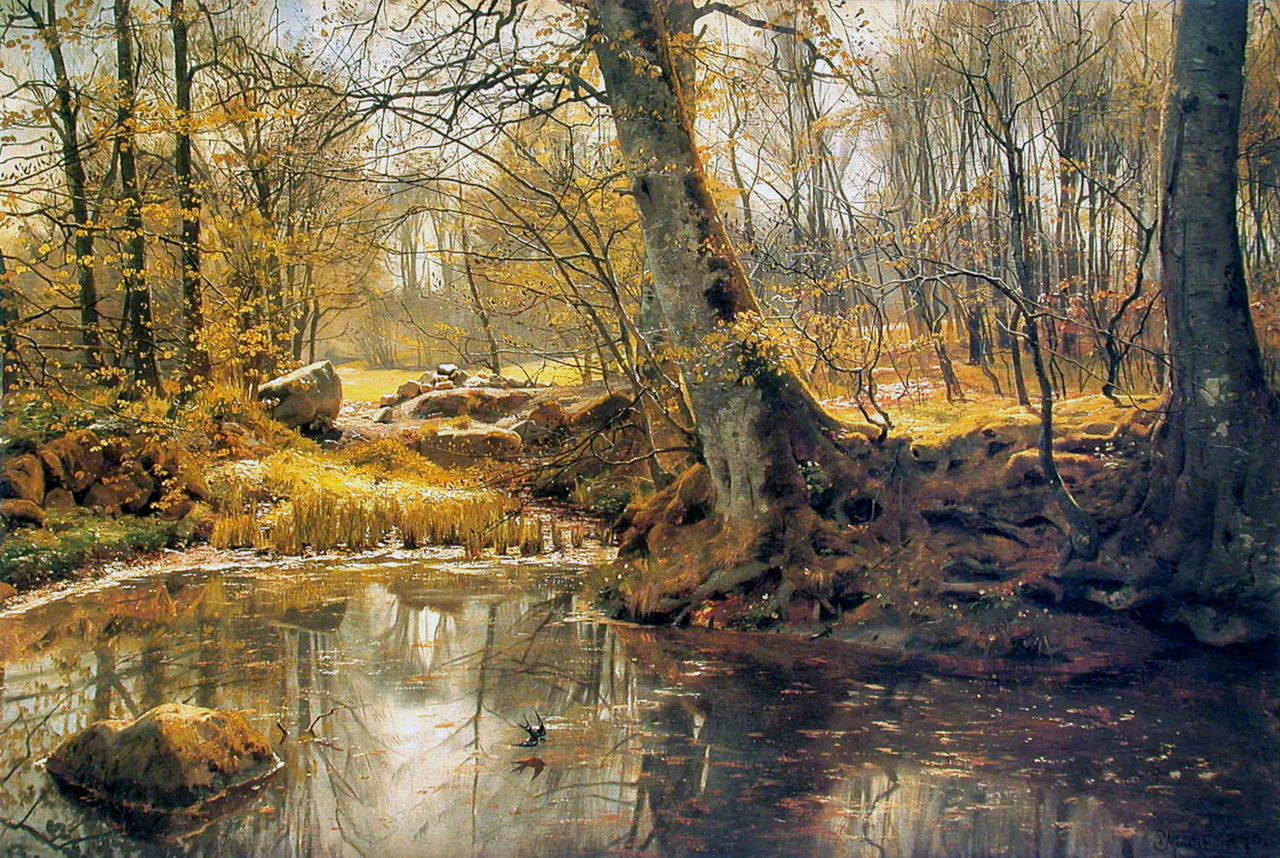 Peinture de Pester Mork Monsted.