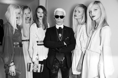 shinarcadia:  Karl Lagerfeld is so fucking gangsta!