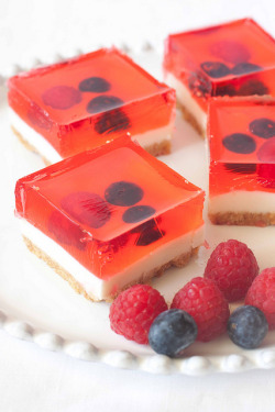 Strawberry Jelly Cheesecake