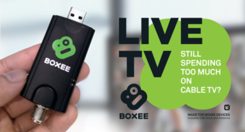 The Boxee Box is about to become a serious option for cord-cutters: Boxee CEO Avner Ronen just announced the Live TV adaptor, which will let you plug in an antenna or basic unencrypted cable and watch broadcast networks like NBC, ABC, CBS, and Fox. (via Boxee Box Live TV adapter announced, adds network TV for $49 | The Verge)
