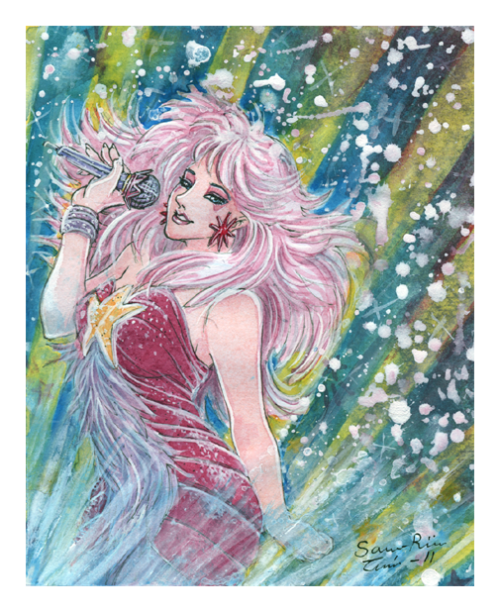One of my childhood favorites shows (and still is) Jem and the Holograms! Here is Jem aka a Jerrica Benton.