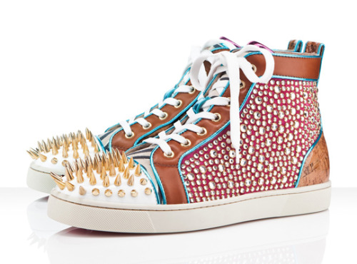 davidcho:  Christian Louboutin S/S '12 Not really for me to wear (I don't think), but these are fucking dope.  So I don't think I could let myself buy these (just a litttttttle too ridiculous and obviously insanely priced), but if someone bought them FOR me, I would have to wear them at least a couple times, just to be polite, right? And then I would just wear them forever and ever.