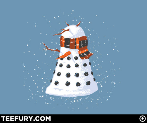 I am so making a snow-Dalek this winter.