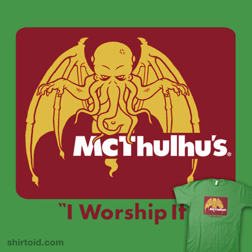 McThulhu's available at RedBubble