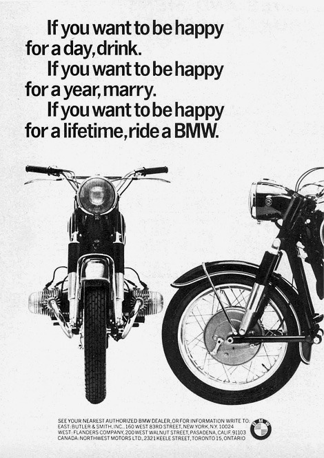 jaymug:  Vintage BMW Advertising