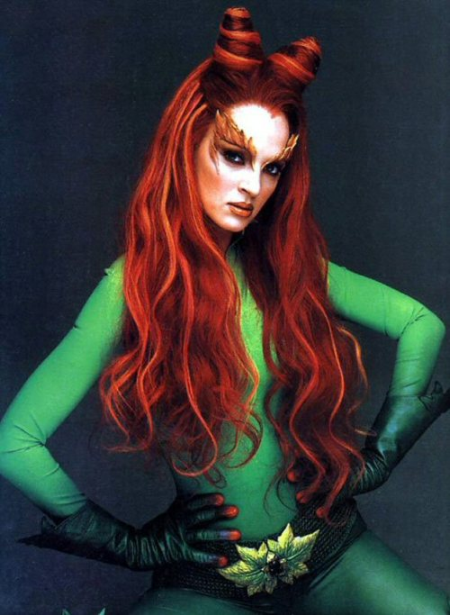 "Uma Thurman as Poison Ivy ""Batman & Robin"" (1997)."