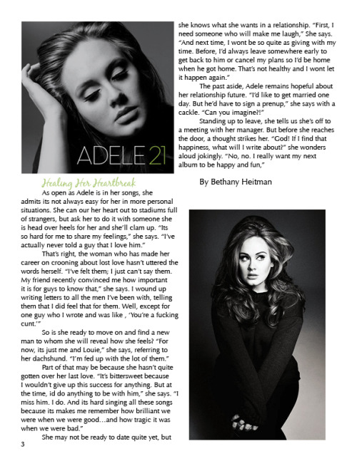 Adele Interview Part 3
