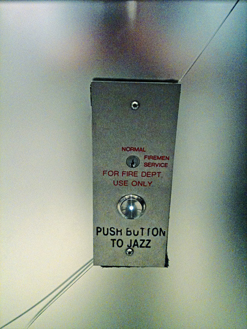 Push button to jazz.