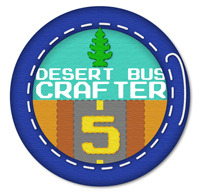 The Desert Bus 5 gaming marathon is almost upon us and is shaping up  to be the biggest one yet. Megaman and Roll are safely in Canada with  the LoadingReadyRun crew and will be featured in a silent auction on Nov  19th. Be sure to check out all the other awesome crafts people have sent in  too and watch the live event stream for all the fun as they play the  most boring game ever made to help children in hospitals.