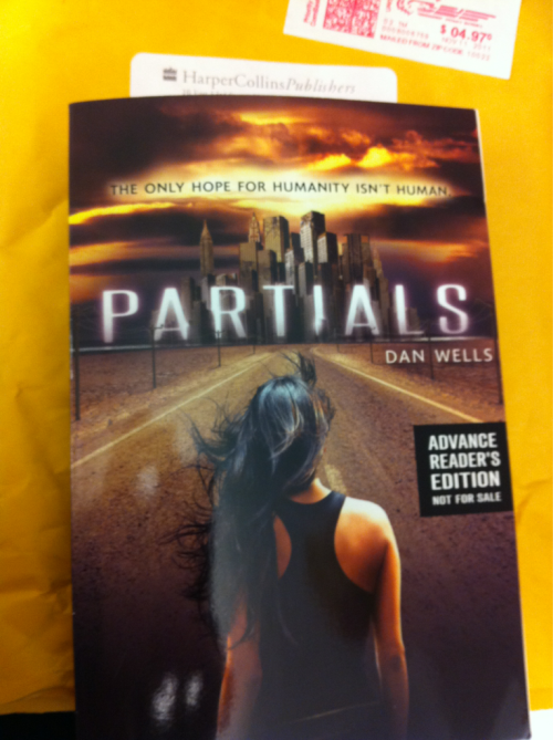 Love getting ARCs in the mail. Just got this from HarperCollins. Sounds like a fun read.