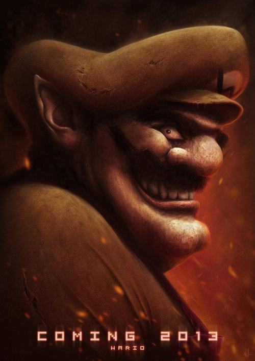 svalts:  Wario - by Joshua Summana Tumblr | Twitter (Via: 8bitego)