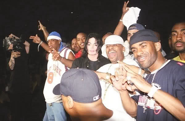 theconcretearchives:  Summer Jam 2001: The Dynasty x Michael Jackson