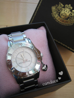 "Juicy Couture ""Rich Girl"" Watch by Ballet Pink on Flickr."