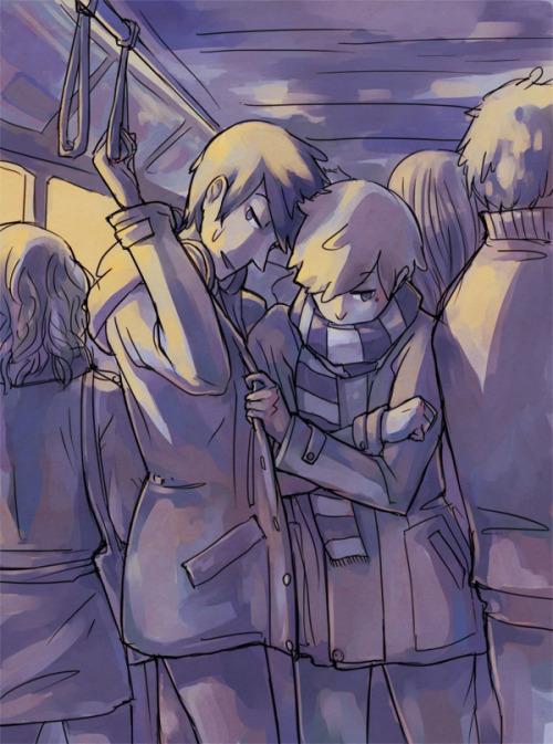 Public transit gets crowded sometimes… [product of last night's livestream!]
