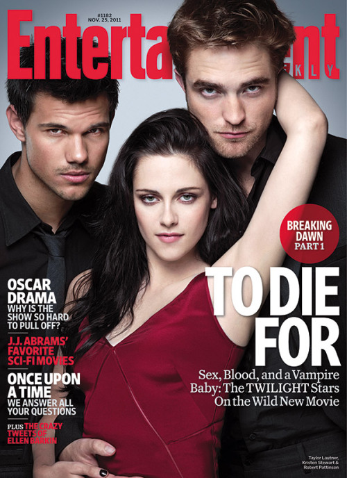 "This Week's EW Cover: Breaking Dawn Part 1 entertainmentweekly:  Twihards have long been anticipating seeing Bella (Kristen Stewart) and  Edward (Robert Pattinson) honeymoon on Isle Esme and consummate their  marriage amid flying feathers. And as audiences will see when The Twilight Saga: Breaking Dawn — Part 1 arrives  in theaters this Friday, the love scene does not disappoint. But,  according to the stars of the movie, things could have been even more  steamy — if it weren't for director Bill Condon needing to keep the  action PG-13. ""There's a version where it was really intense,"" recalls  Pattinson in this week's EW.  ""Cinematically, cut all together, it's  awesome,"" says Kristen Stewart. ""But we didn't really do that scene."