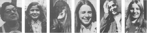 "uhgly:  In November of 1970, forty people were photographed at the exact instant after the photographer said, ""You have a beautiful face.""  Reblogging again because I absolutely love this"