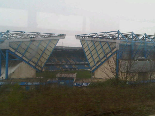 Millwall - The New Den  Submitted by @DannyLast