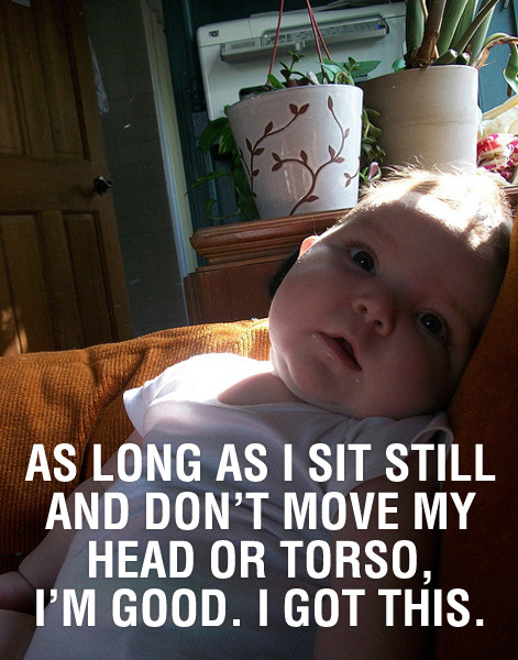 Of course there's a site mixing pics of babies with Ron Swanson quotes. Of course there is.