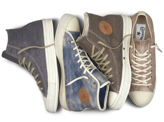 "Converse Chuck Taylor All Star Premium ""Denim Pack"" Spring 2012"