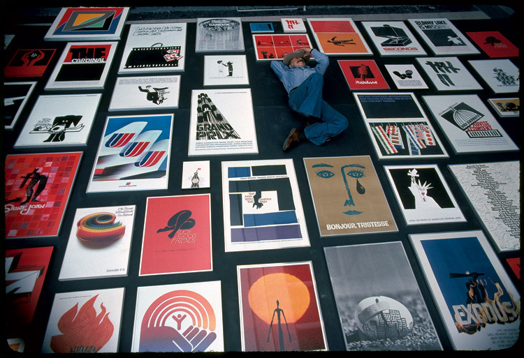 """Saul Bass. Before I ever met him, before we worked together, he was a legend in my eyes. His designs, for film titles and company logos and record albums and posters, defined an era. In essence, they found and distilled the poetry of the modern, industrialized world. They gave us a series of crystallized images, expressions of who and where we were and of the future ahead of us. They were images you could dream on. They still are."" — Martin Scorsese on the ""Economic"" Genius of Saul Bass"
