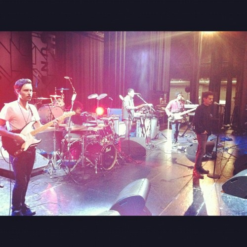@funeralpartymusic sound check they play at the wiltern tonight. Come and say hi. #thewiltern #concert #rockography #iphoneography #funeralparty  (Taken with instagram)