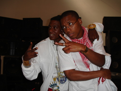 thav-code:   Okay, so I found a few old photos… Here's Lupe Fiasco and Lil Boosie at the first XXL Freshmen shoot.