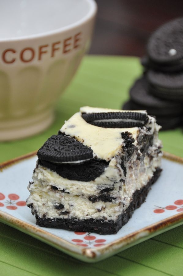 imgoingtobeacook:  Oreo Cheesecake click image for recipe  Small slice of heaven 😍😍😍😍😍😍😍😍😍
