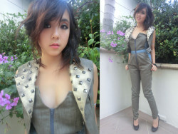 Damsel in Denim (by Stephanie Wong ) Stephanie wearing my garment!!! <3