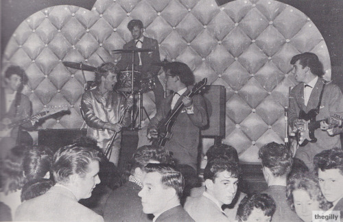 10 November 1961, Rory Storm and the Hurricanes at the Tower Ballroom in New Brighton.