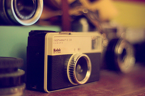 Lovely vintage Kodak Instamatic.