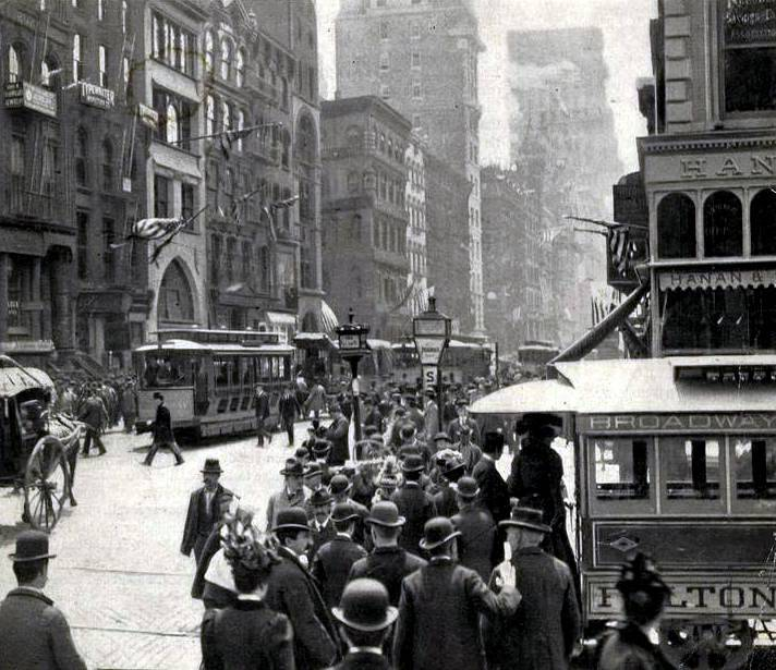 Broadway-1899 New York City