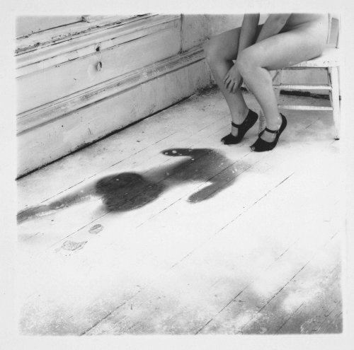 Francesca Woodman. One of my favorite photos by her.