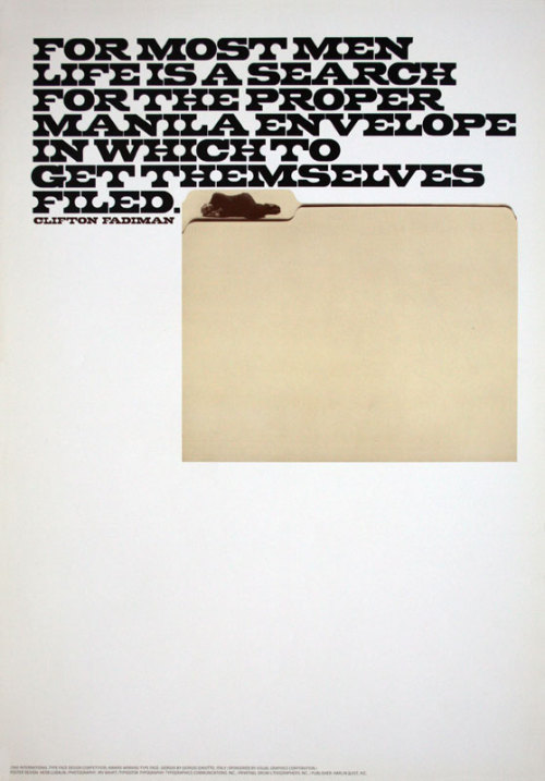 Giorgio, poster design by Herb Lubalin 1966.