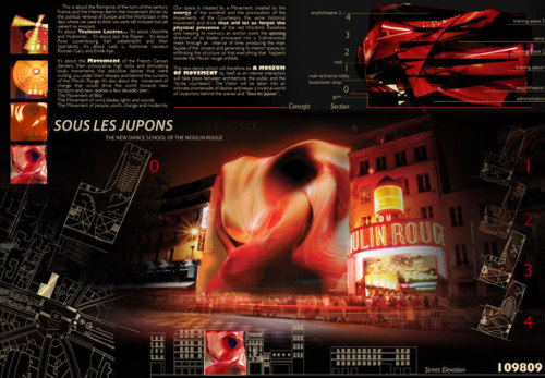 Moulin Rouge Competition _ With Sari El Khazen Architects Click for more info