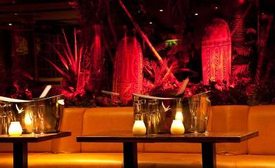NEW YEARS EVE 2011 For New Years Eve 2011, Mahiki will be taking you on an enchanting Treasure Island adventure as we enter into the most talked about year since the millennium! The legendary wooden doors to our Polynesian paradise will open at 5.30pm for the ultimate cocktail lovers! As you step aboard our Tiki vessel, you will be greeted with a complimentary Mahiki Coconut cocktail in the Lanai lounge. In this eternal sunset, Mahiki's Sailor Jerry's and Honolulu honeys will be spoiling you with Tiki Colada's, Lovers Cups and plenty of other scrumptious Mahiki cocktails of your choice throughout the evening! Before long, you will feel the dark forces driving down the legendary steps to Mahiki's secret underworld where the buried treasures and undead pirates reside. Beware of the temptations inside, one sip from the Pirates Daiquiri and the Poison Chalice; you risk your soul will being enslaved to this underworld for eternity.   Tickets to this treasure filled evening will be £50 worth of gold, please call Mahiki's beautiful honey's on 02074939529 for enquiries and table reservations. Tiki Love, Honey xXx