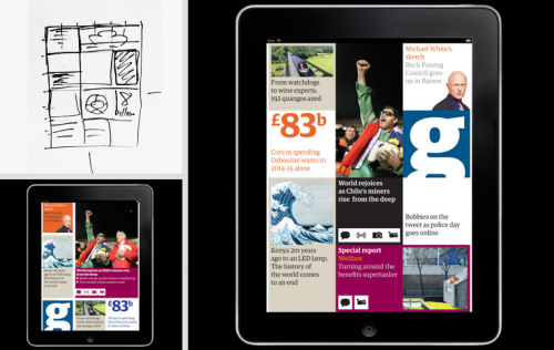 Great article on the design development of the iPad version of The Guardian.