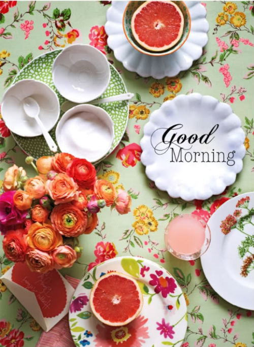 everythingfab:  (via Everything Fabulous: Bright Morning Breakfast)