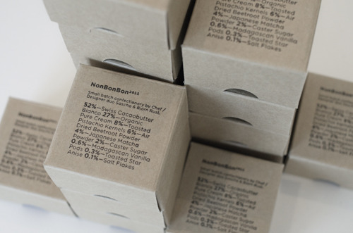 Packaging for small batch confectionery collaboration with my brother.