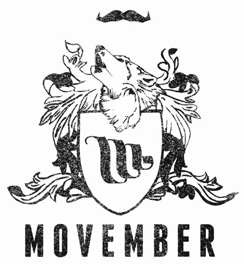 Don't forget it's MOVEMBER people!! Grow an epic mustache and raise some cash for mens health charities…. or just donate lots of cash.  :{ movember.com