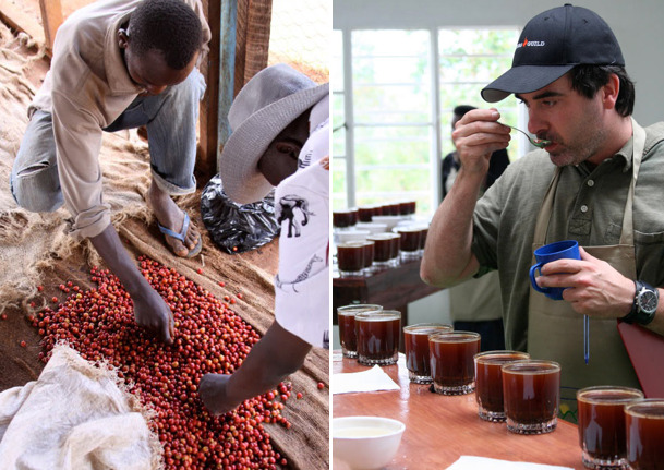 Great interview with vice president of Intelligentsia, Geoff Watts.