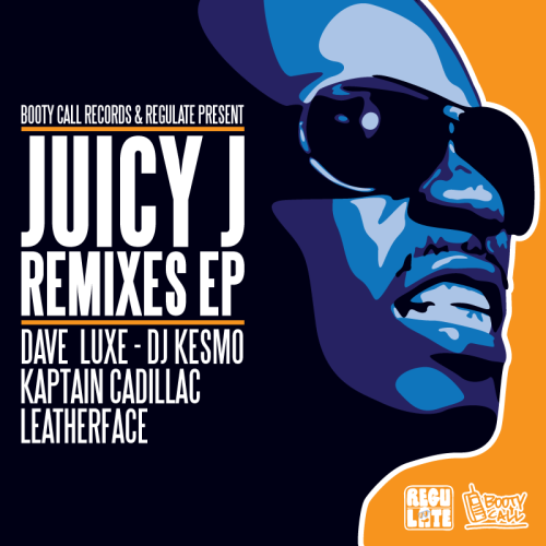 Booty Call Records & Regulate Present Juicy J Remixes EP  STREAM FREE DOWNLOAD Tracklisting 01 - Juicy J - Yao Ming (Kaptain Cadillac Remix) 02 - Juicy J ft Project Pat - Twerk (Dave Luxe Remix) 03 - Juicy J - Get To Meet A G (DJ Kesmo Remix) 04 - Juicy J - Break It Down (Dave Luxe Remix) 05 - Juicy J - Rubberband Business 2 Intro (Leatherface Remix)  Artwork: Larry Print