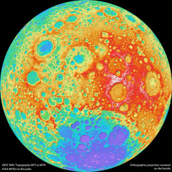 The highest resolution near-global topographic map of the moon ever created