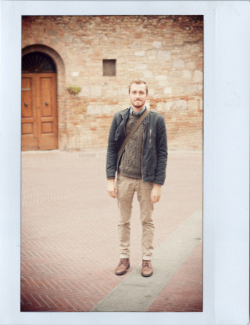 November 4, 2011. San Gimignano, Italy. Jacket: Guess - $40 (bought at Salvage & Stock)Sweater: Topman - $60 (20% off sale)Jeans: H&M - $20 (on sale)Boots: Topman - $100 (20% off sale) (similar) View on: Lookbook.nu | Chictopia